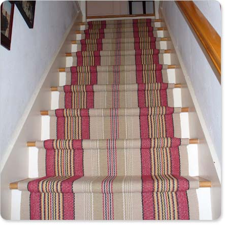 How To Install Carpet On Stairs Cap And Band Method