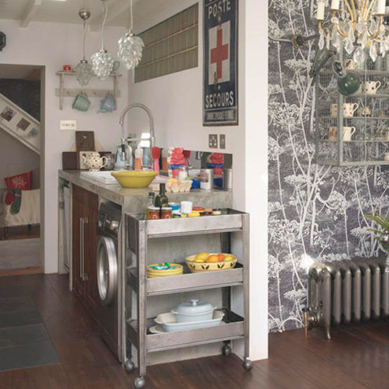 Wallpaper Ideas For Kitchen: Tilly's Cottage